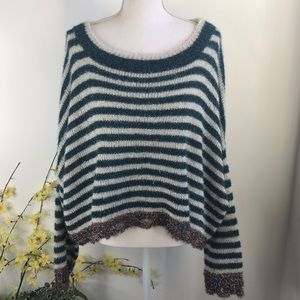 NWOT Sparkly cropped sweater